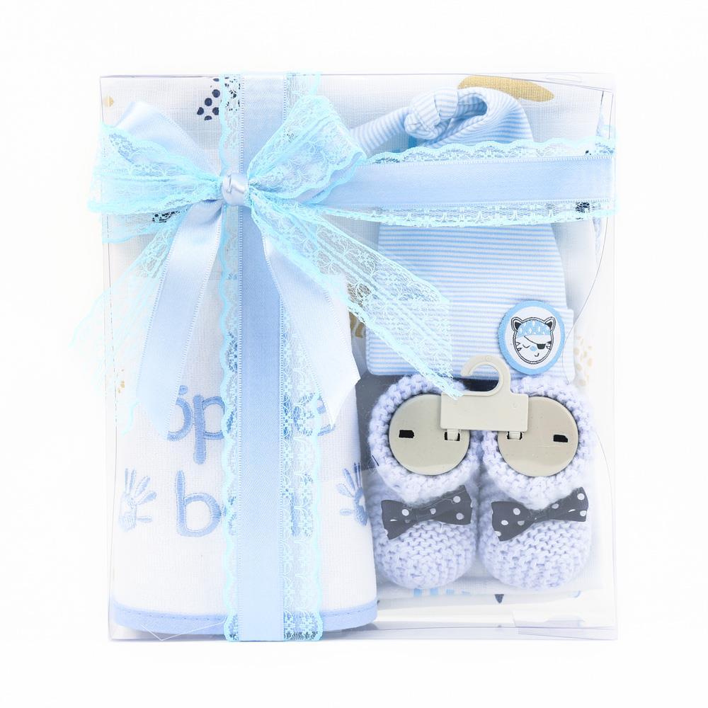 <span>Yeni Doğan Erkek Bebek Hediye Seti Mavi</span>