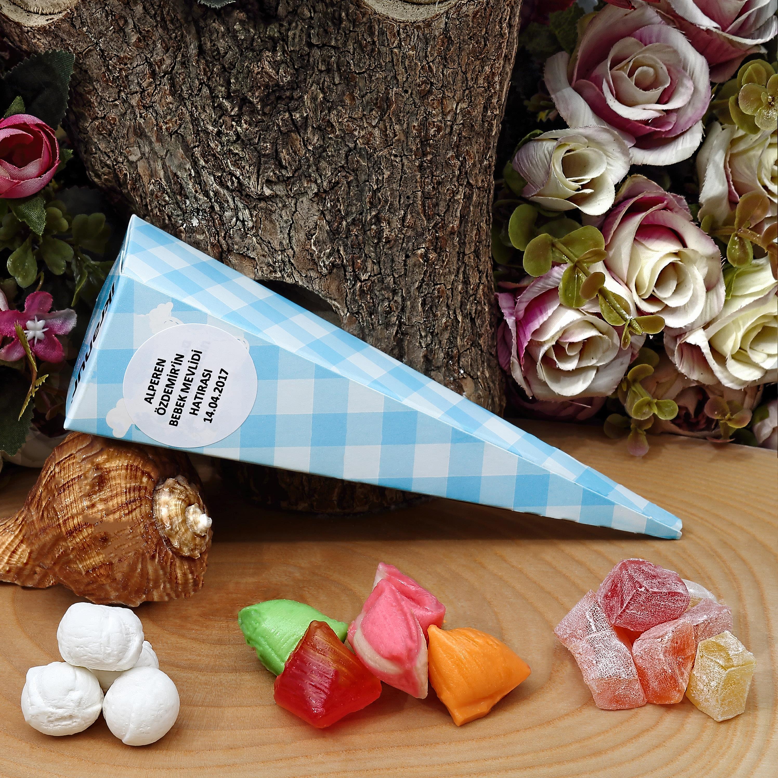 Bebek Mevlüt Şekeri - Kuş Lokumlu, Mevlana Şekerli