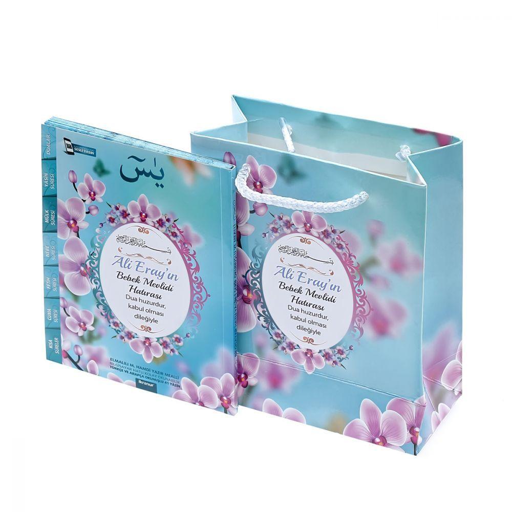 <span>Çanta Boy Yasin Kitabı, Karton Çanta Mevlid Paketi 423 ( Renk Seçenekli )</span>
