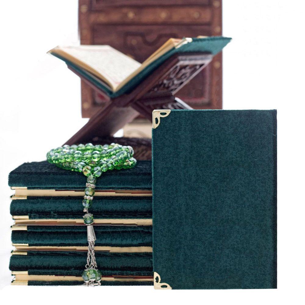 <span>Cep Boy 128 Sayfa Kadife Kaplı Yasin Kitabı Yeşil</span>