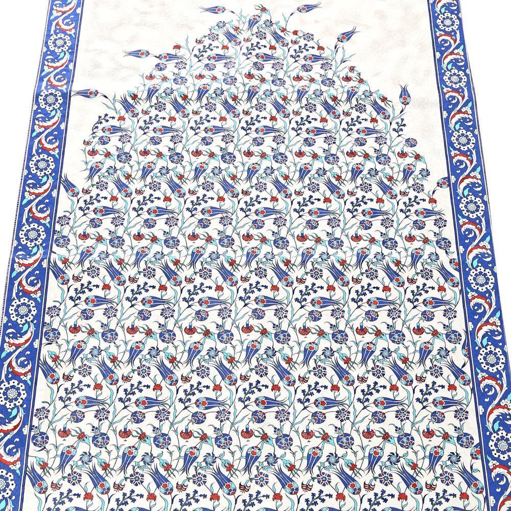 <span>İslami Hediye Çini Desen Lacivert Seccade</span>