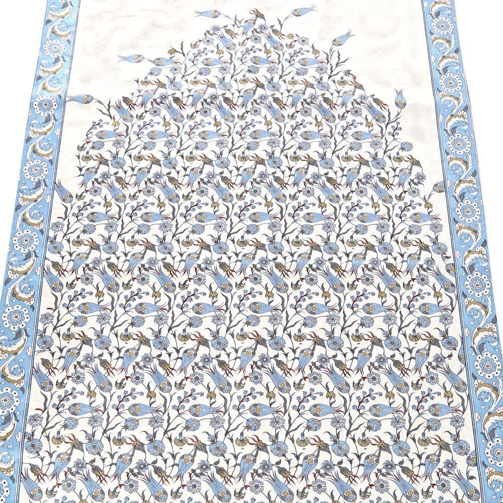 <span>Dini Hediyelik Çini Desen Mavi Seccade</span>
