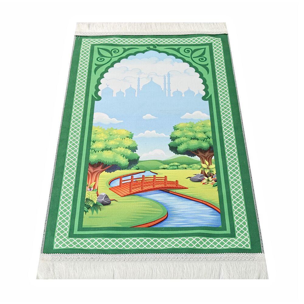 <span>Çocuk Seccadesi Köprü - Yeşil</span>