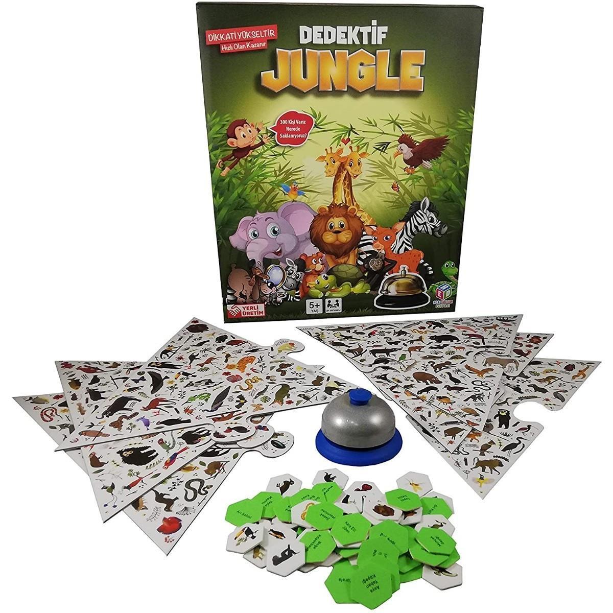 <span>Dedektif Jungle Seç - Göster Oyunu</span>