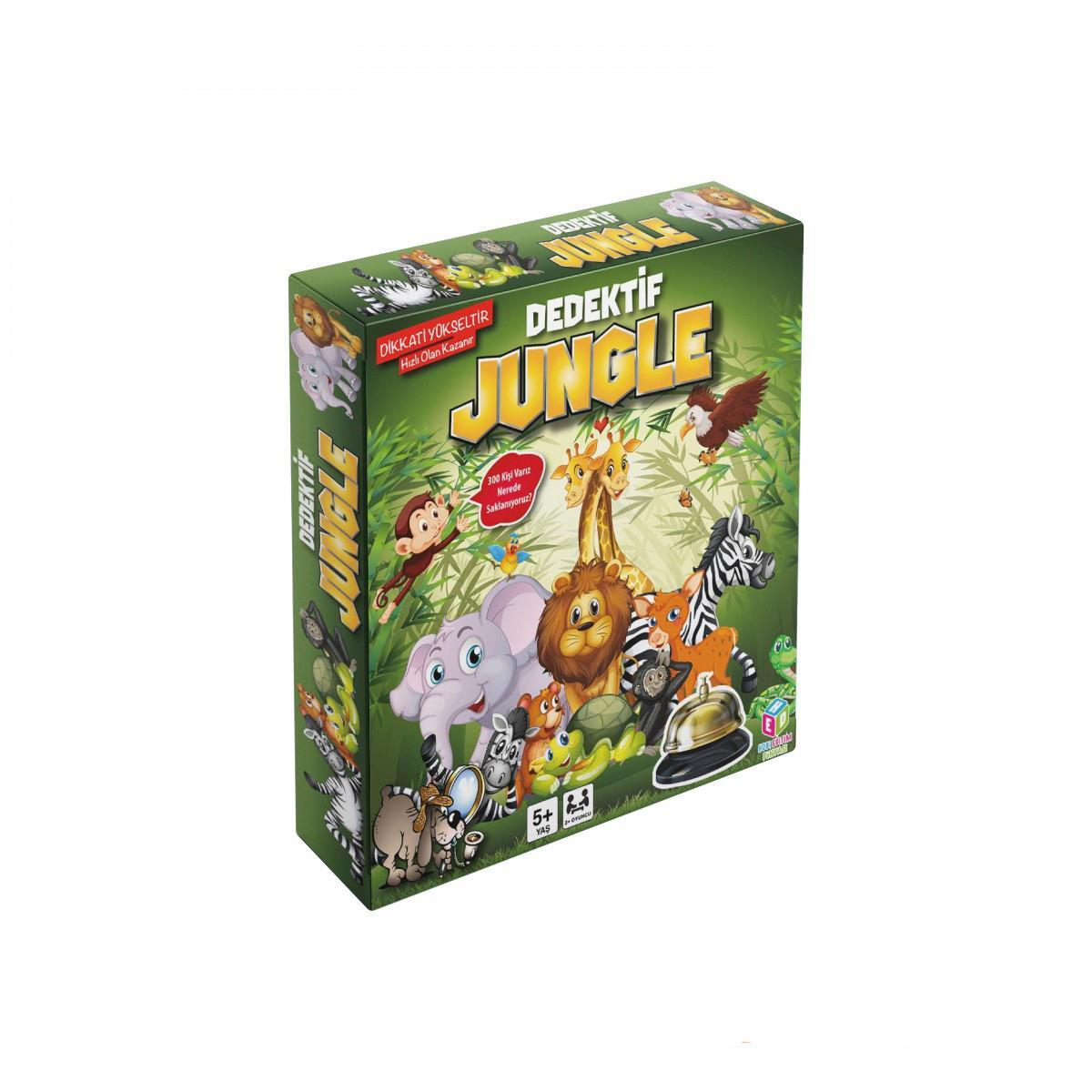 Dedektif Jungle Seç - Göster Oyunu