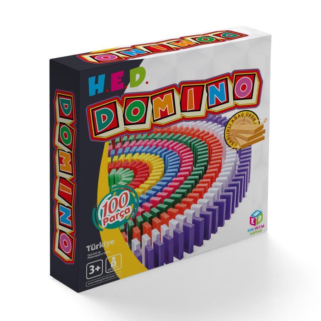 <span>Domino 100 Parça Akıl, Zeka, Görsel, Eğitici ve Odaklanma Oyunu</span>