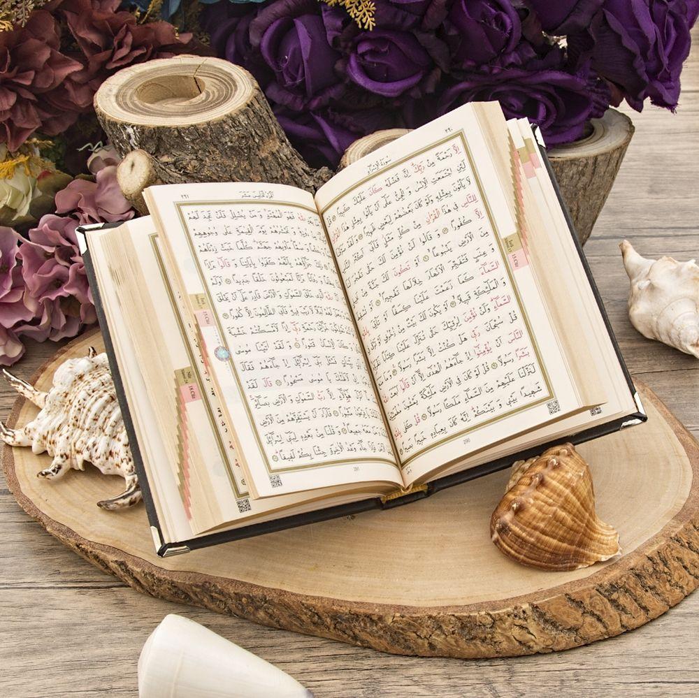 <span>Gümüş KaplI Kur'an-ı Kerim (Kur'an-ı Kerim Boy Seçenekli)</span>