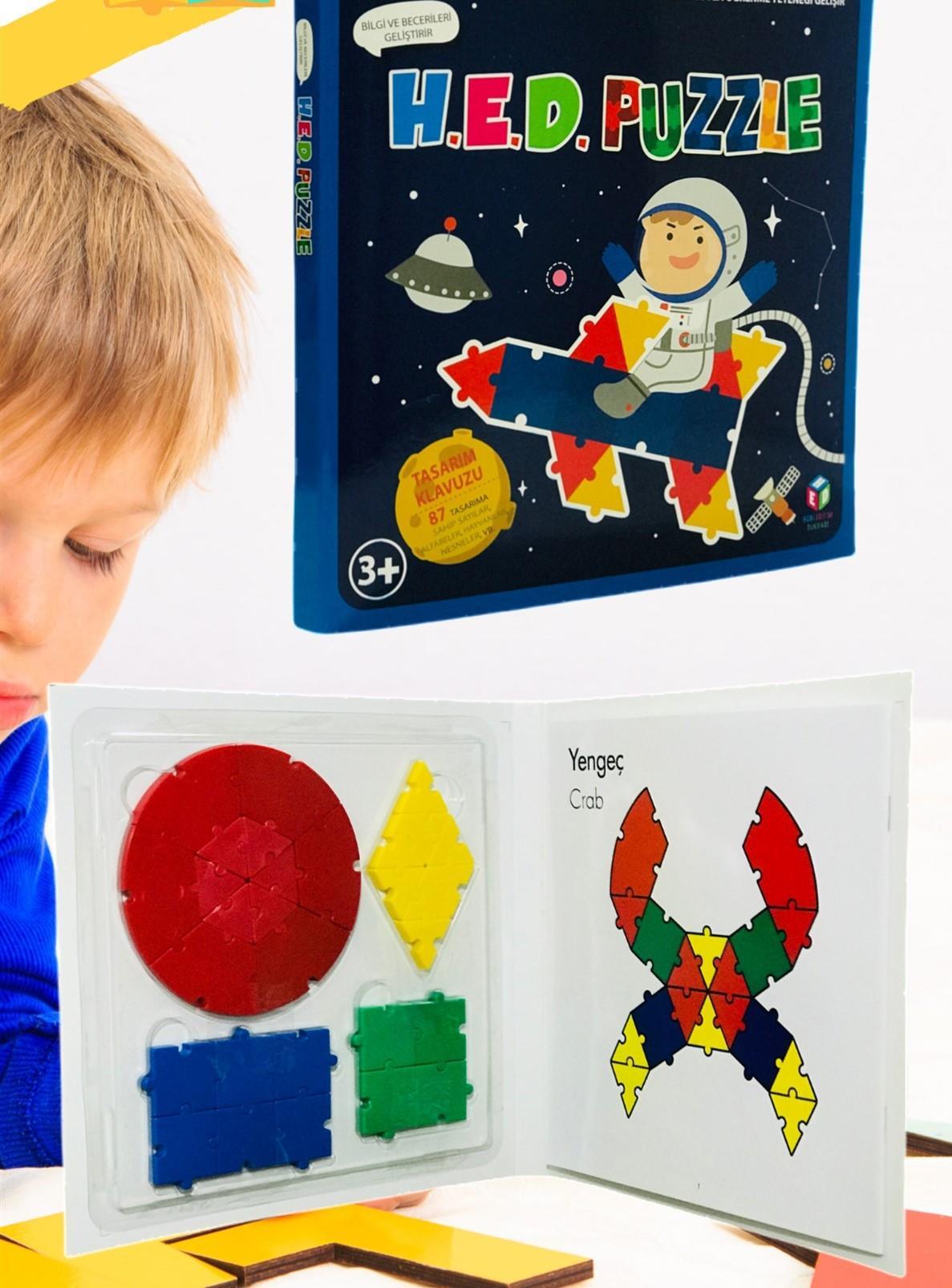 <span>HED Puzzle Akıl, Zeka, Görsel, Eğitici ve Odaklanma Oyunu</span>