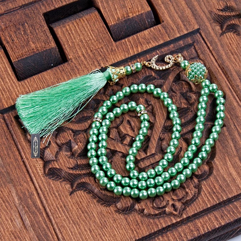 <span>İnci Tesbih Fıstık Yeşili</span>