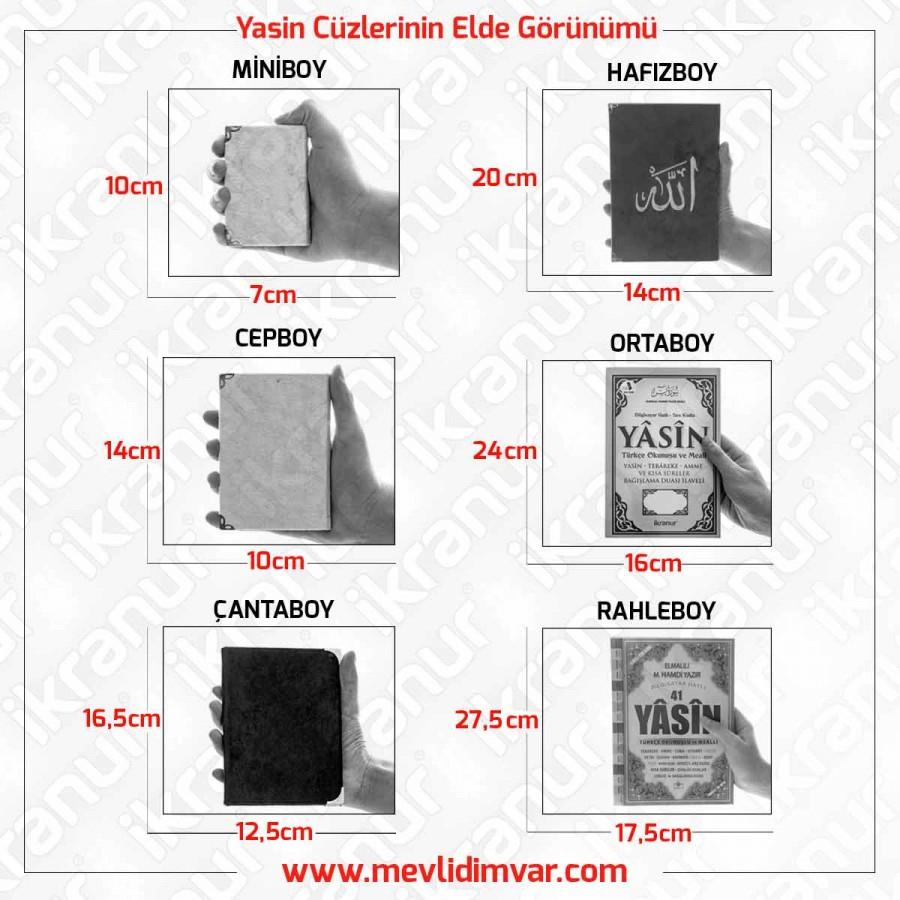 <span>Kadife Kaplı Yasin Kitabı Çanta Boy 128 Sayfa Allah Lafızlı Siyah</span>