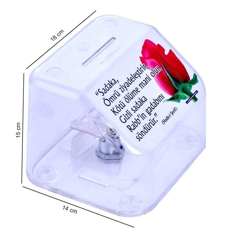 <span>Kırılmaz Plastik Sadaka Kutusu (Büyük)</span>