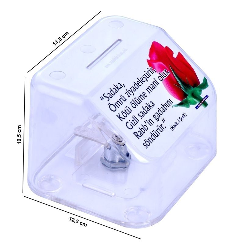 <span>Kırılmaz Plastik Sadaka Kutusu (Küçük)</span>