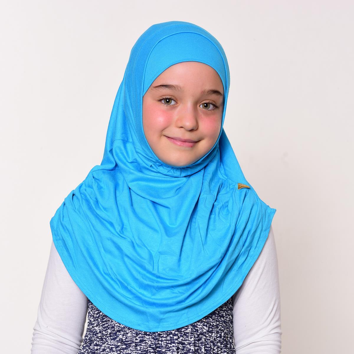 <span>Kız Çocuk Eşarp Açık Mavi</span>