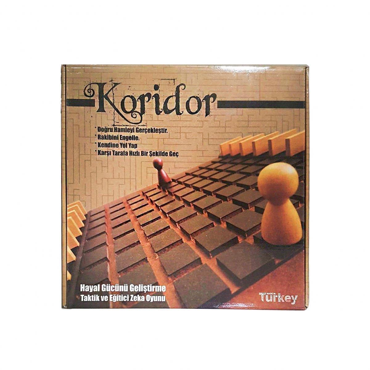 <span>Koridor Akıl, Zeka, Görsel, Eğitici , Odaklanma ve Strateji Oyunu</span>
