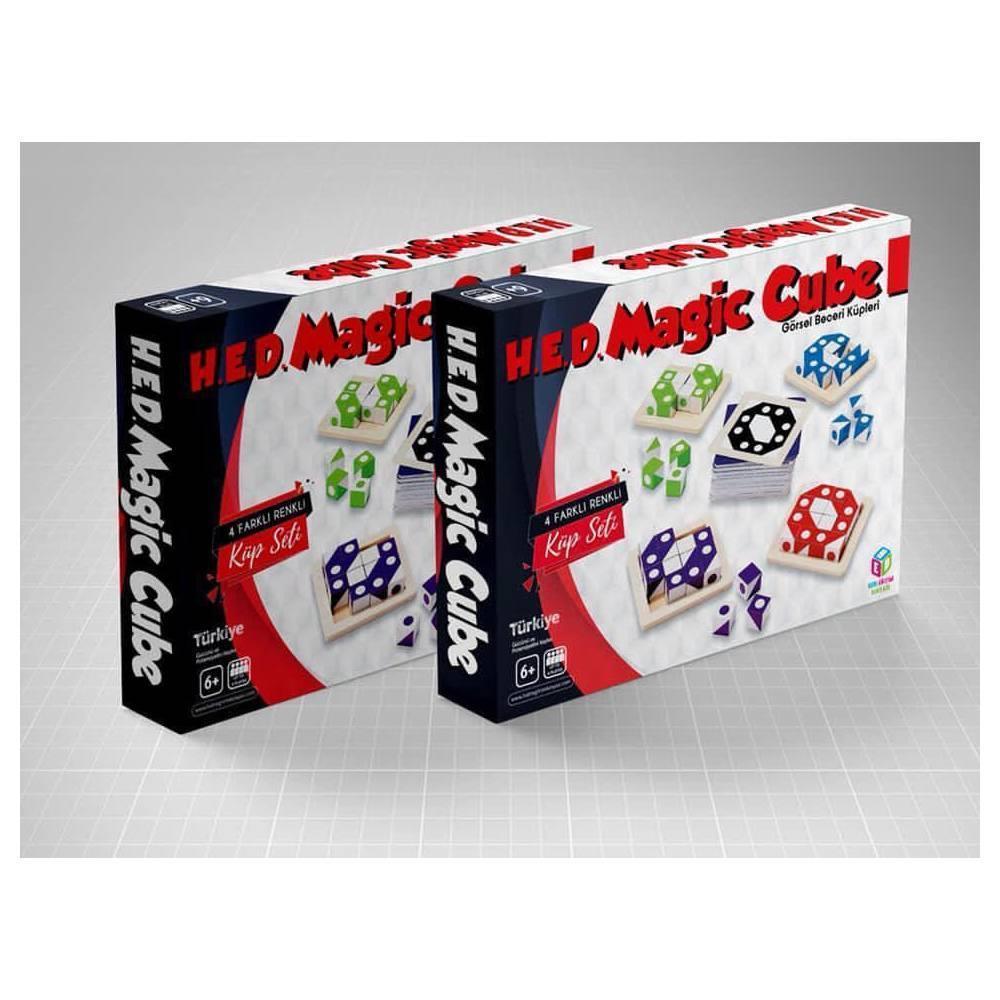 <span>Magic Cube Beceri Zeka, Görsel, Eğitici ve Odaklanma Oyunu</span>