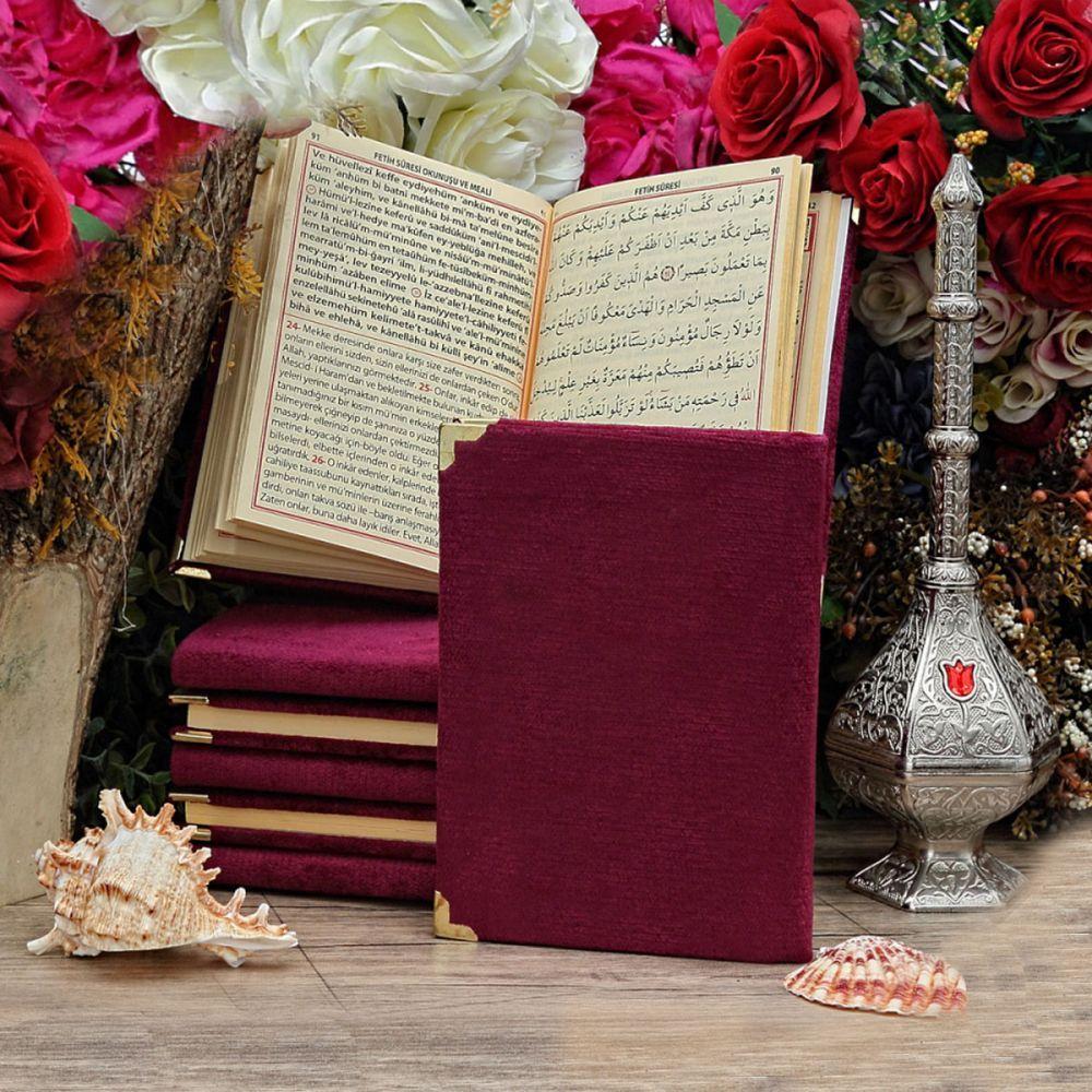 İslami Ürün Asetat Kutuda Kadife Yasin İnci Tesbih - 614