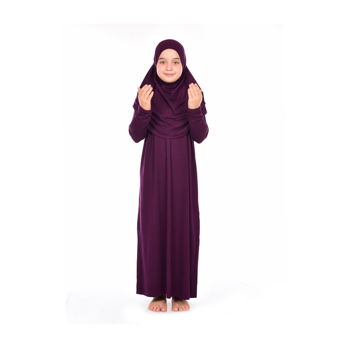 <span>Namaz Elbisesi Kız Çocuk Bordo</span>