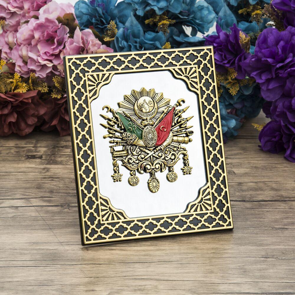 Osmanlı Logolu Tablo, Seccade, Kitap Ayracı, Esanslı Hediye Seti