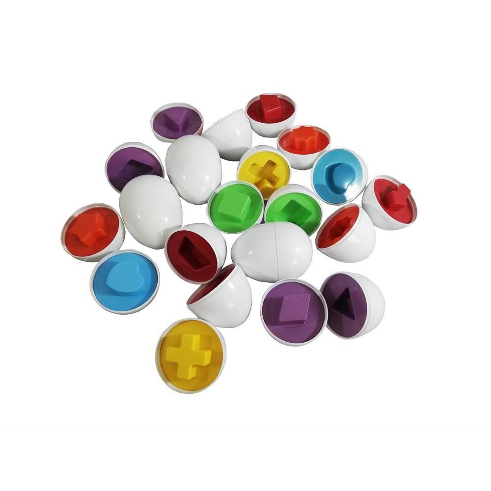 <span>Şekilli Yumurtalar Eğitici Oyuncak Zeka, Görsel, Odaklanma Oyunu</span>