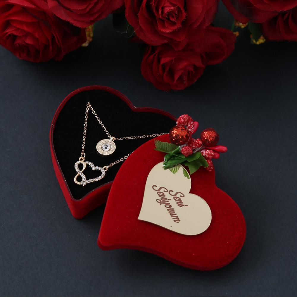 <span>Sevgililer Günü Hediyesi Sonsuz Aşk Kolyesi</span>