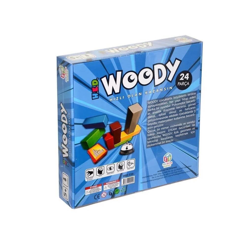 <span>Woody Akıl, Zeka, Görsel, Eğitici ve Odaklanma Oyunu</span>